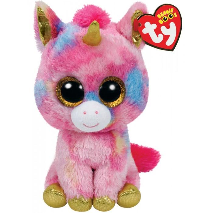 Купить Мягкие игрушки, Мягкая игрушка TY Единорог Фантазия 15 см