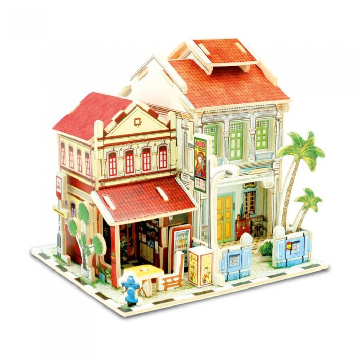 Картинка для Rezark Сборная модель Домики Сингапура Мини отель