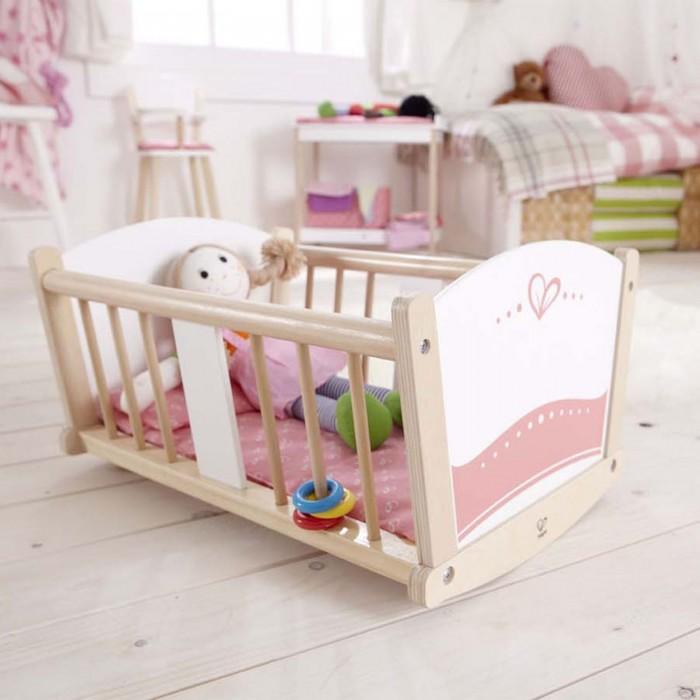 Купить Кроватки для кукол, Кроватка для куклы Hape люлька-колыбель