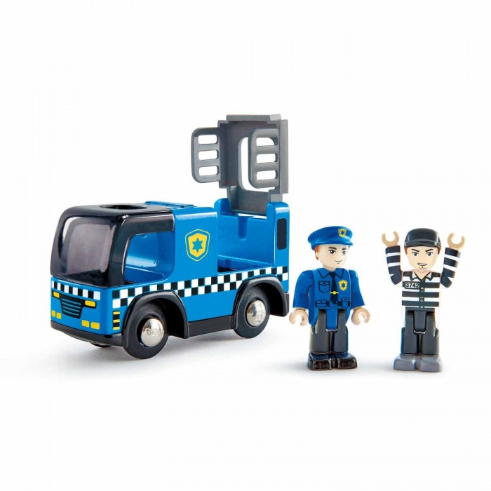 Машины Hape Полицейская машина с сиреной