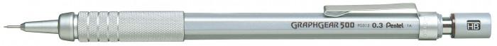 Pentel Карандаш автоматический профессиональный Graphgear 500 0.3 мм