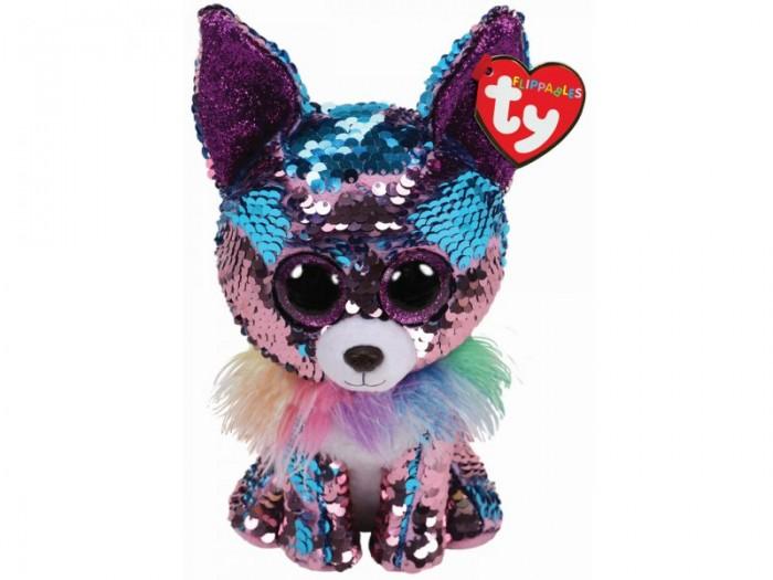 Купить Мягкие игрушки, Мягкая игрушка TY Чихуахуа Чармд с пайетками 15 см