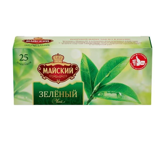 Чай Майский Чай зелёный Зелёный 25 пак.