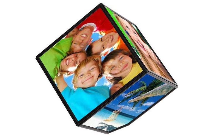 Фото - Фотоальбомы и рамки Эврика Вращающаяся Фоторамка сувенир