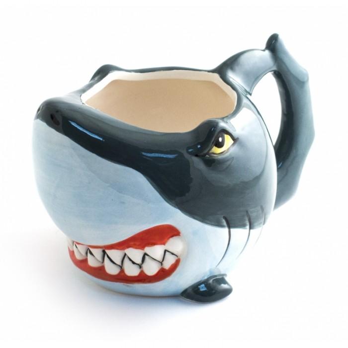 Посуда и инвентарь Эврика подарки удивительные вещи Кружка Акула