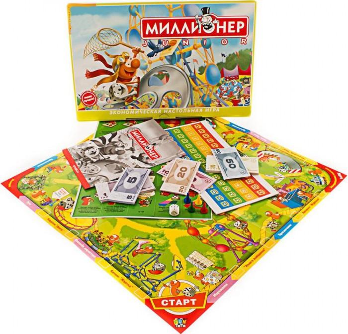 Настольные игры Origami Настольная игра Миллионер-юниор