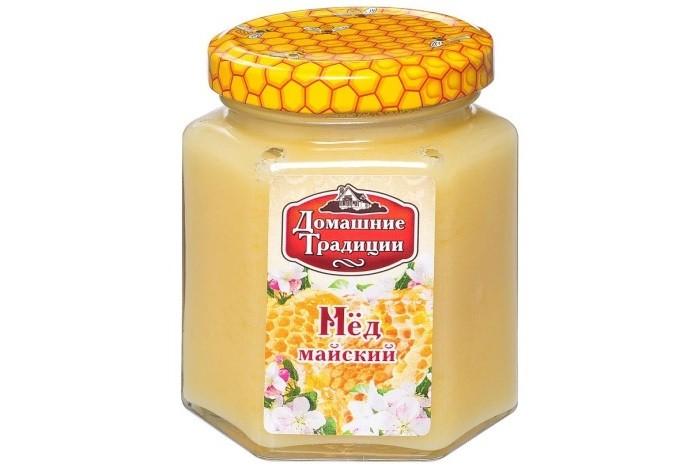 Мед, варенье, сиропы Домашие Традиции Мёд Майский 250 г недорого