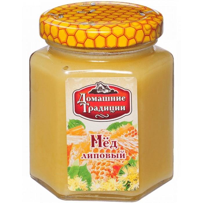 Мед, варенье, сиропы Домашие Традиции Мёд Липовый 250 г