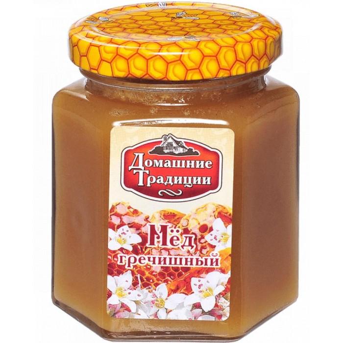 Мед, варенье, сиропы Домашие Традиции Мёд Гречишный 250 г луговица мед натуральный гречишный 250 г