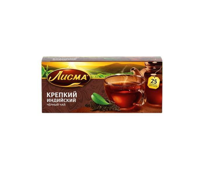 Чай Лисма Чай черный Крепкий Индийский 25 пак.