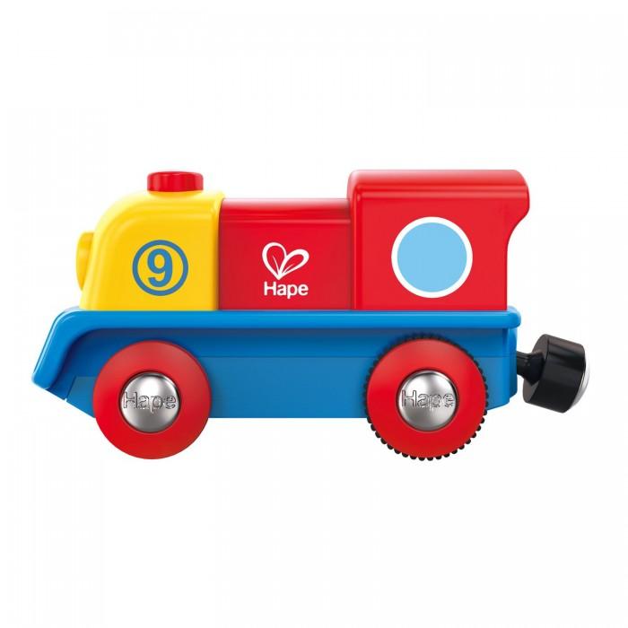 Купить Железные дороги, Hape Маленький храбрый паровоз