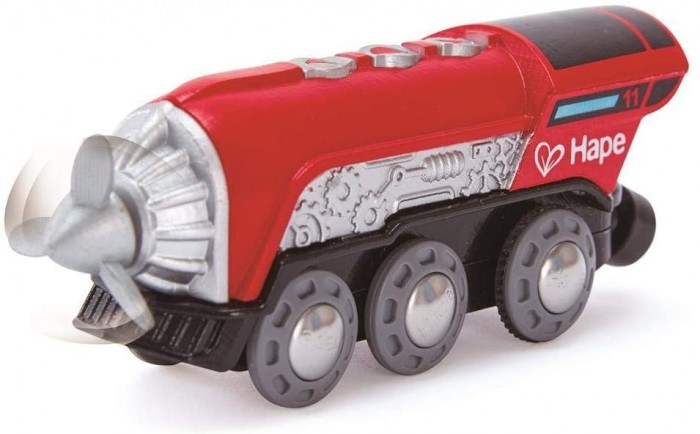 Купить Железные дороги, Hape Поезд с пропеллером