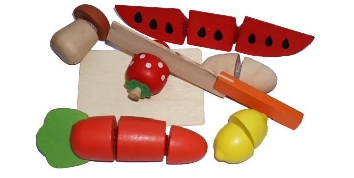 Деревянные игрушки Mapacha Набор продукты