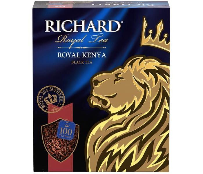 Чай Richard Чай черный Royal Kenya 100 пак. sex education in kenya