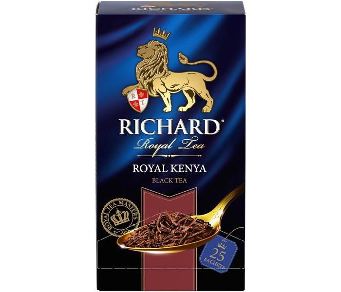 Чай Richard Чай черный Royal Kenya 25 пак. sex education in kenya