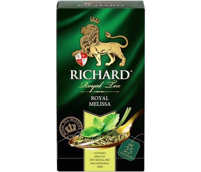 Чай Richard Чай зелёный Royal Melissa 25 пак.
