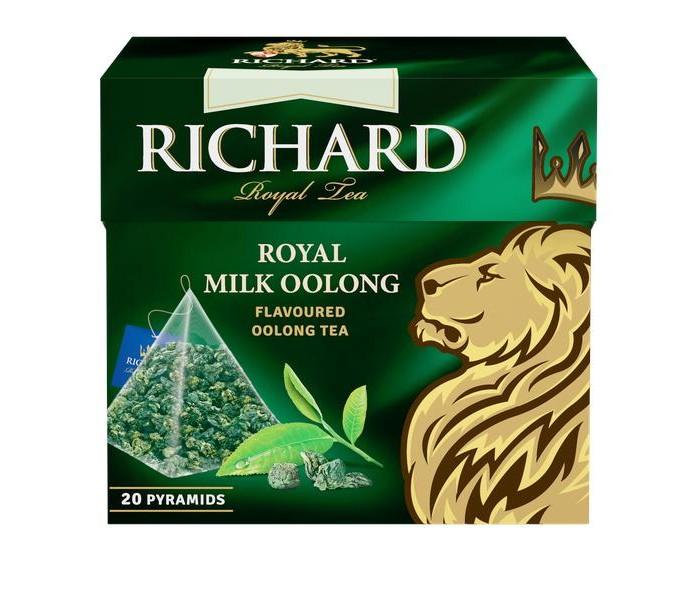 Чай Richard Чай зелёный Royal Milk Oolong 20 пак.