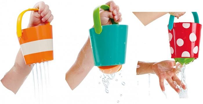 Купить Игрушки для ванны, Hape Игрушка для купания Счастливые ведра