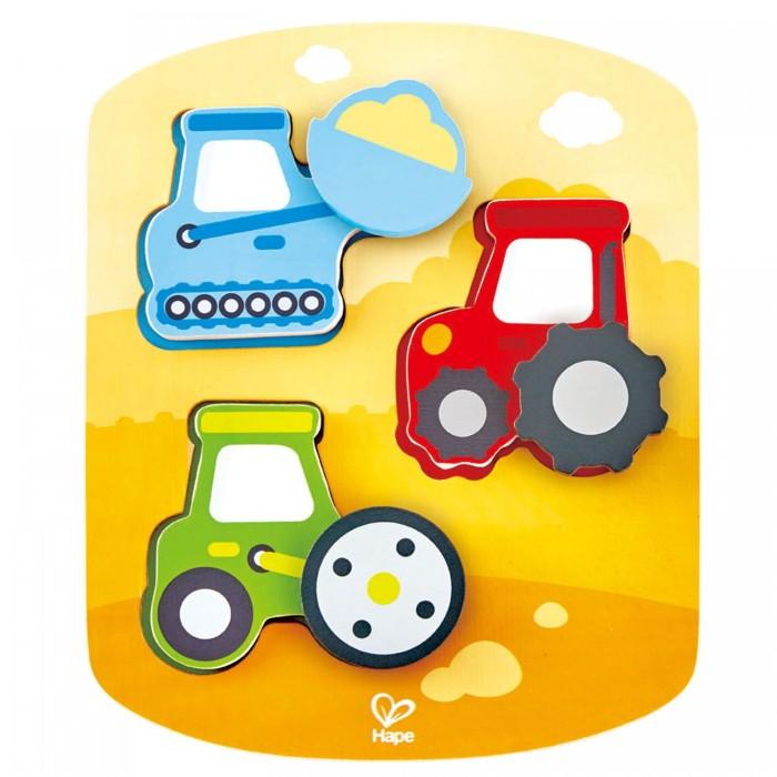 Фото - Деревянные игрушки Hape Головоломка вращающая Строительная техника деревянные игрушки tau toy головоломка никитина собери квадрат 7 28х28 см