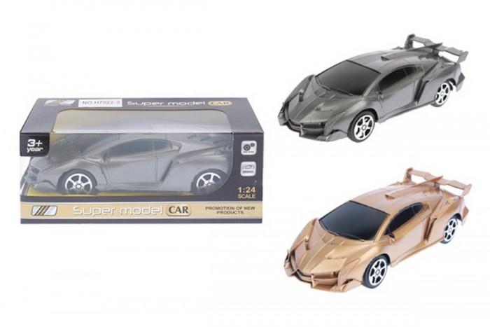 Машины ХэппиЛенд Машинка инерционная в коробке Super model car 1:24