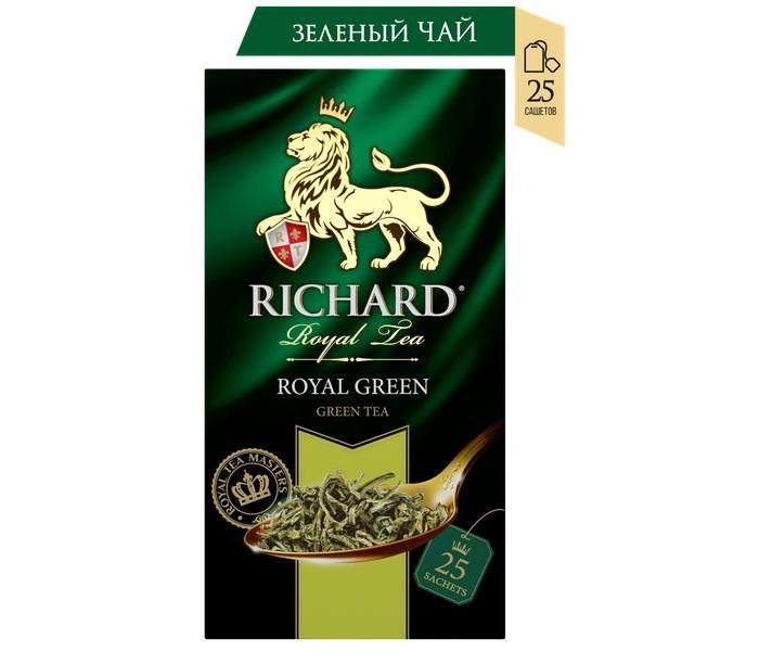 Чай Richard Чай зелёный Royal Green 25 пак.