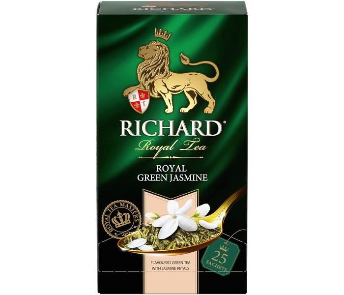 Чай Richard Чай зелёный Royal Green Jasmine 25 пак.
