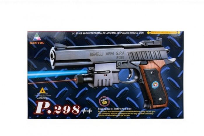 ХэппиЛенд Игрушечное оружие Пистолет с лазерным прицелом B01442 от ХэппиЛенд