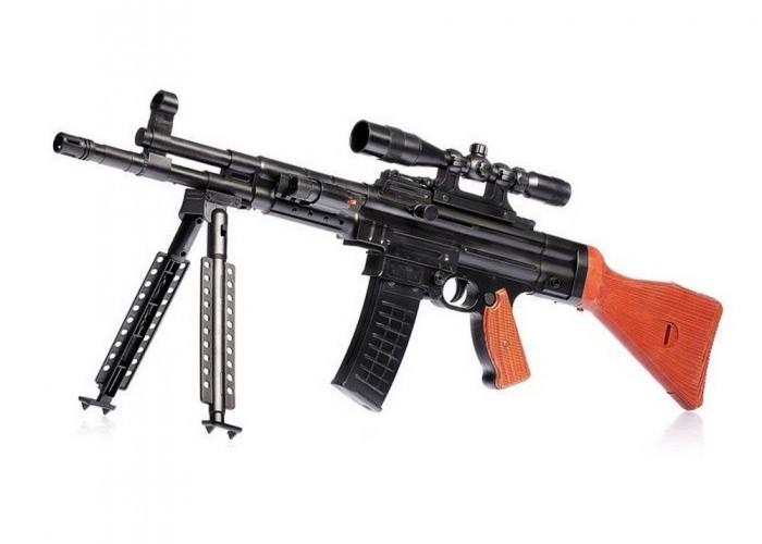 ХэппиЛенд Игрушечное оружие Автомат с лазерным прицелом B01240 от ХэппиЛенд
