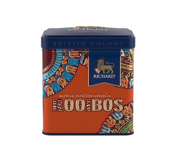 Чай Richard черный British Colony Royal South Africa Rooibos 50 г