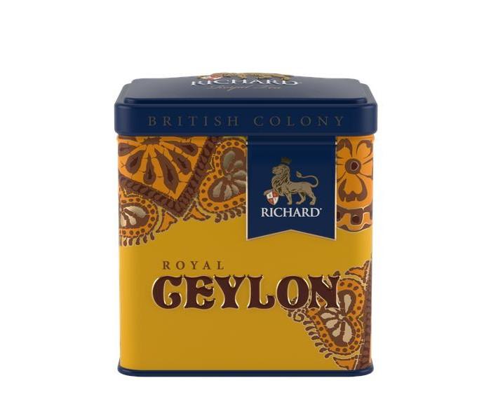 Чай Richard черный British Colony Royal Ceylon 50 г