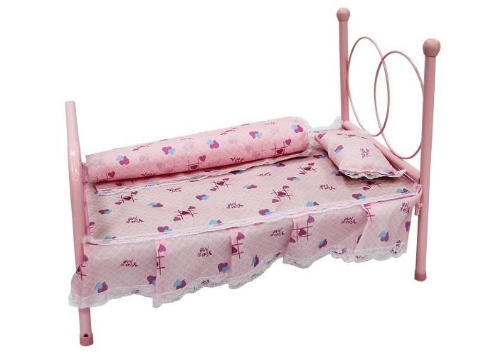 Кроватка для куклы Shantou Gepai 44х26х33 см