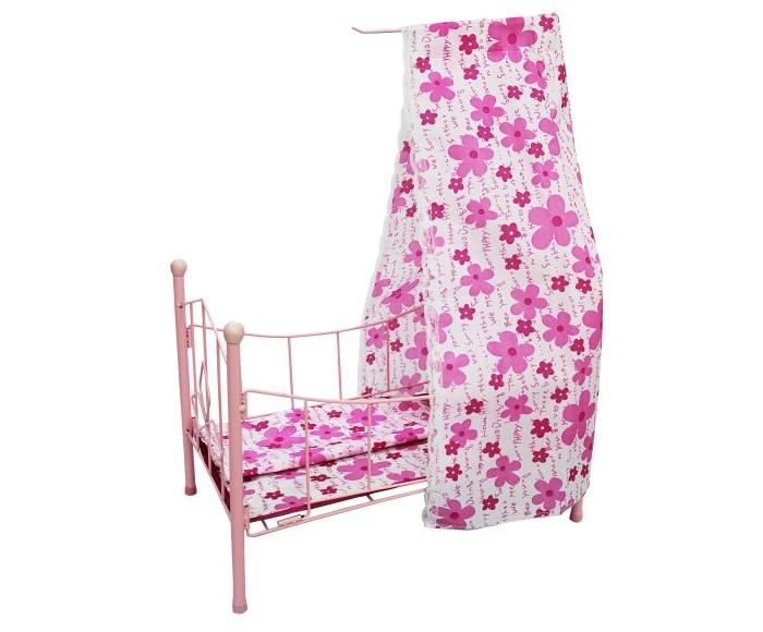 Кроватка для куклы Shantou Gepai с балдахином