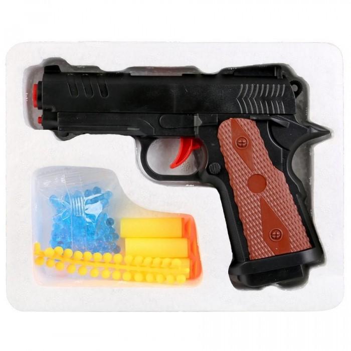 Игрушечное оружие ХэппиЛенд Игрушечное оружие Пистолет с гелевыми пулями игрушечное оружие наша игрушка пистолет m7317