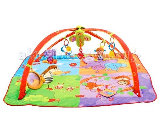 tiny love развивающий коврик разноцветное сафари tiny love Развивающие коврики Tiny Love Разноцветное Сафари