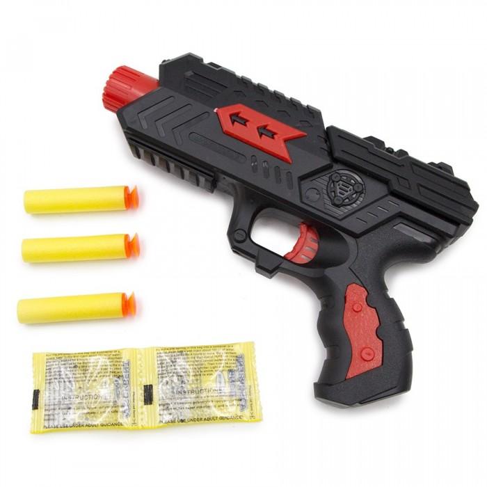 Игрушечное оружие ХэппиЛенд Игрушечное оружие Пистолет с мягкими гелевыми пулями игрушечное оружие haiyuanquan игрушечное оружие бластер шестизарядный