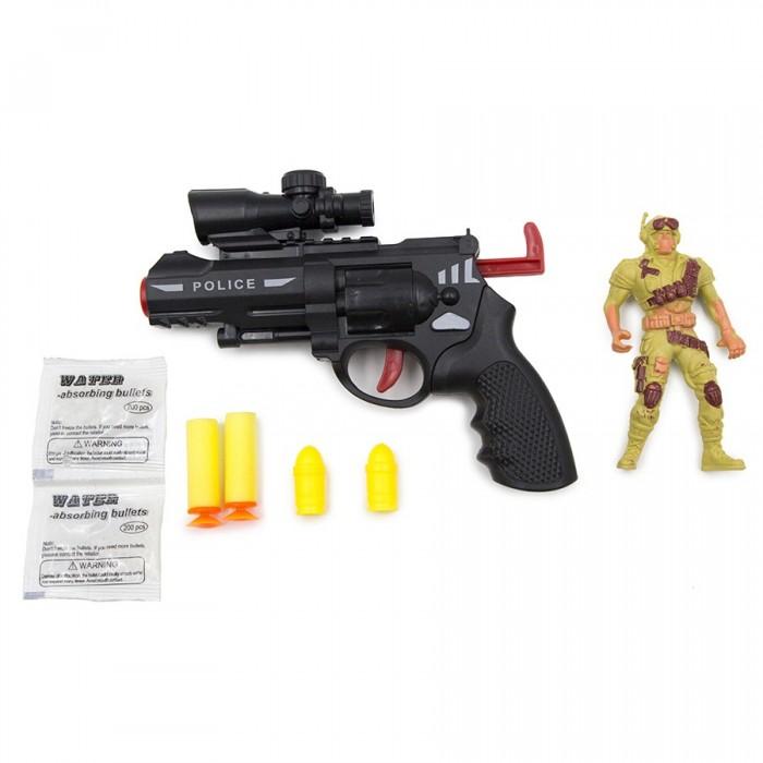 Игрушечное оружие ХэппиЛенд Игрушечное оружие Пистолет с гелевыми мягкими пулями игрушечное оружие haiyuanquan игрушечное оружие бластер шестизарядный