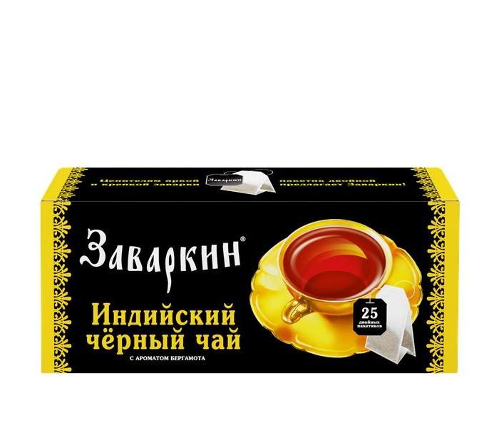 Чай Лисма Чай черный Заваркин 25 пак.