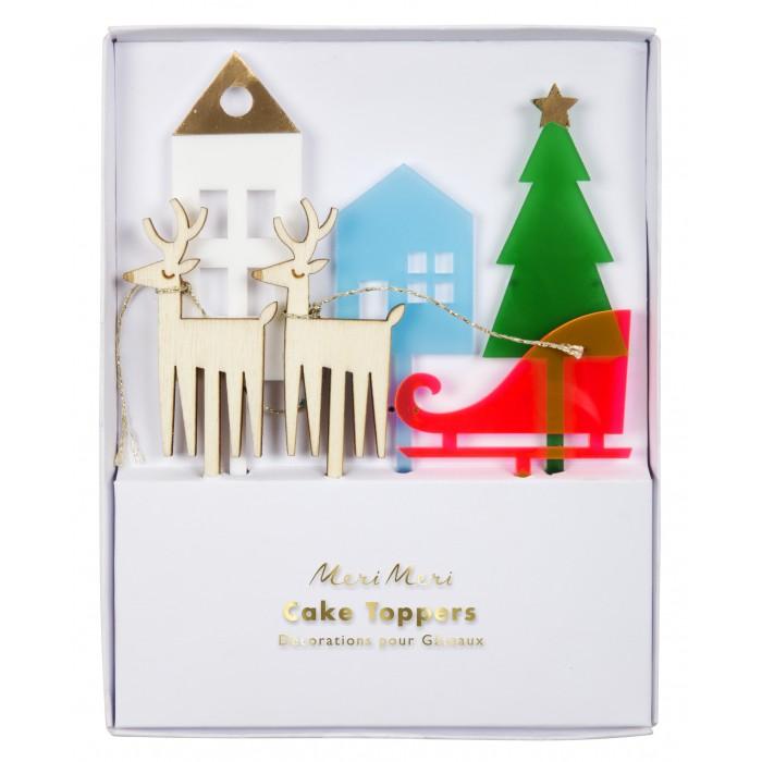 MeriMeri Пакеты для подарков гостям Клетка Гингем