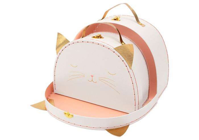 Детские чемоданы MeriMeri Набор чемоданов Кошка