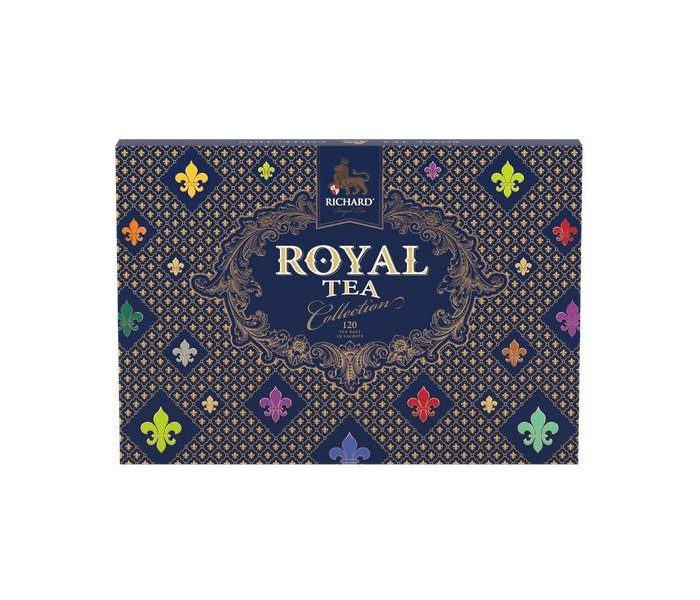 чай richard royal tea collection 20 сашет Чай Richard Чай ассорти Royal Tea Collection 120 пак.