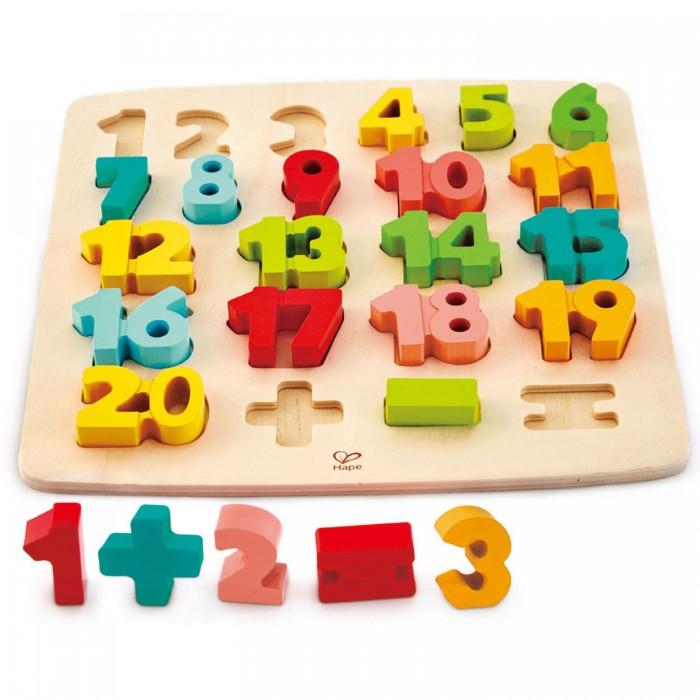 Деревянная игрушка Hape Головоломка-мозаика Математическая