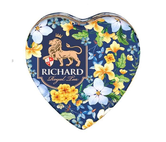 Чай Richard Чай черный Royal Heart 30 г недорого