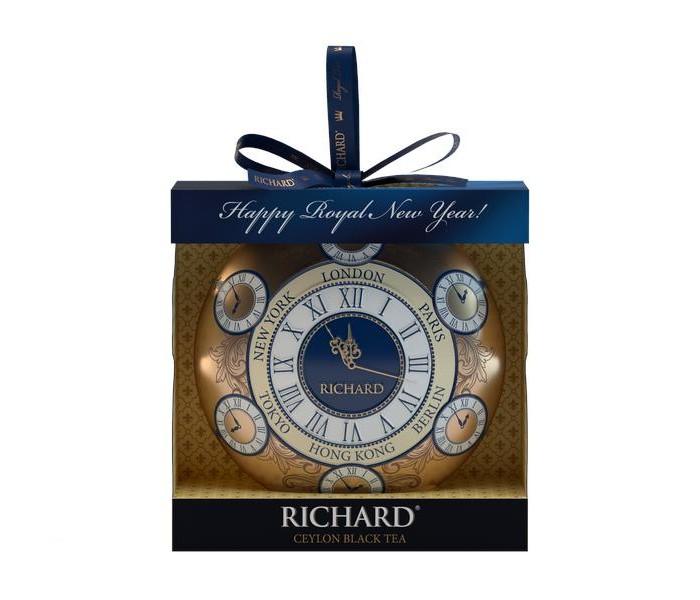Чай Richard Чай черный Christmas Toy 20 г чай листовой gutenberg марокканский апельсин черный ароматизированный 500 г