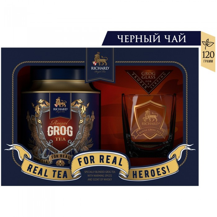 Richard Чай черный Royal Grog Tea 120 г фото