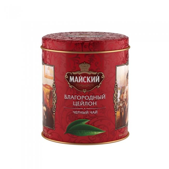 Чай Майский Чай черный Благородный Цейлон 90 г майский чайная матрешка синяя черный листовой чай 30 г