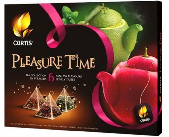 Чай Curtis Чай ассорти Pleasure Time 30 пак. tess коллекция 9 вкусов листового чая в пирамидках 45 шт