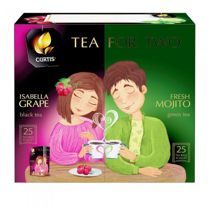 Чай Curtis ассорти Tea For two 92.5 г
