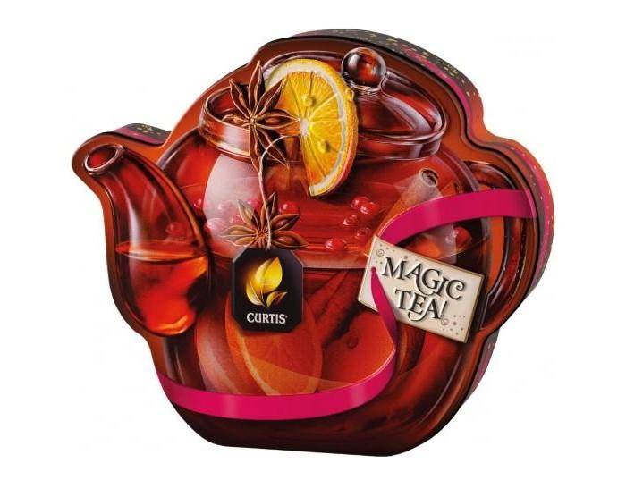 Чай Curtis Чай черный Winter Wine Teapot 70 г чай листовой gutenberg марокканский апельсин черный ароматизированный 500 г