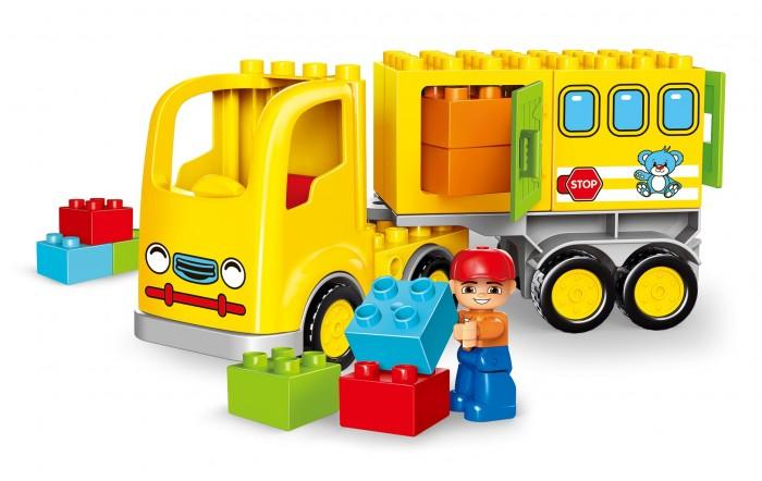 Конструктор Gorock Жёлтый грузовик (23 деталей)
