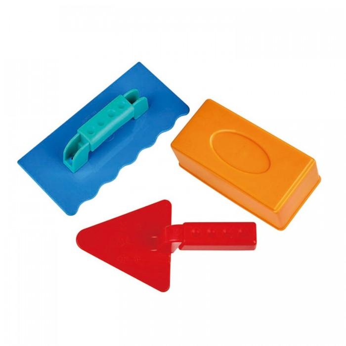 Купить Игрушки в песочницу, Hape Игрушка для игры в песочнице Набор каменщика